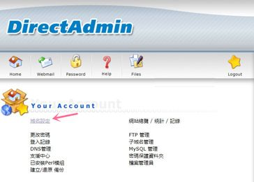 Scicube choose Domain