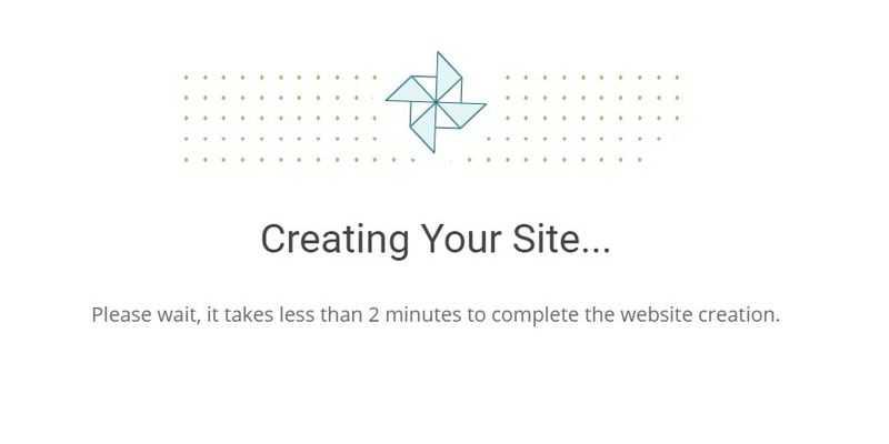 siteground wordpress creating
