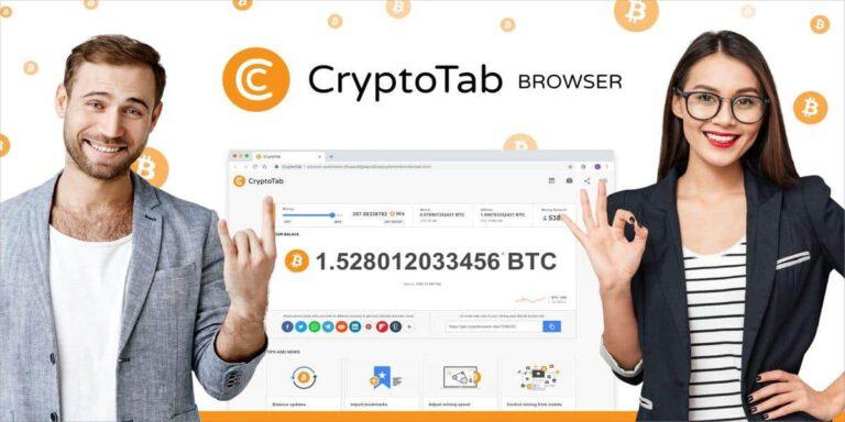 CryptoTab评测:如何利用CryptoTab浏览器赚钱(比特币)?
